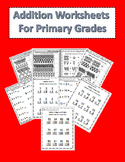 Addition Worksheets for Primary Grades