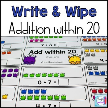 Addition Write and Wipe Bundle