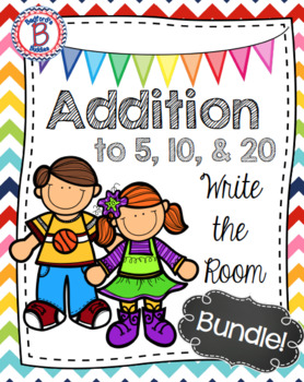 Addition Write the Room Bundle