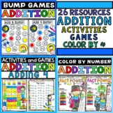 Addition Worksheet Activities Yearlong Math