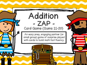 Addition - ZAP - Card Game {Sums 11-20}