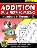 Addition: Daily Morning Practice Addition Made Easy Daily