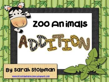 Addition (Zoo Animals)