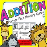 Addition Facts Games No Prep Kindergarten 1st 2nd Grades