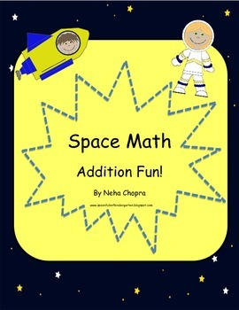 Addition activities- Space Theme