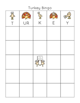 Addition and Multiplication Fact Fluency Bingo (Thanksgiving Theme)
