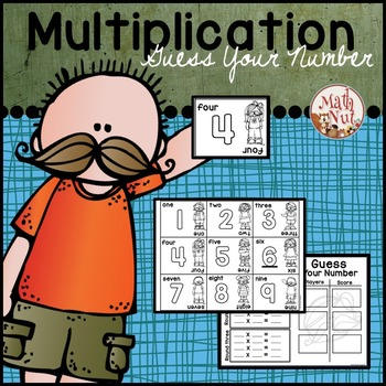 "Guess Your Number ""Multiplication Game"""