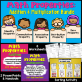 Addition Properties and Multiplication Properties Bundle