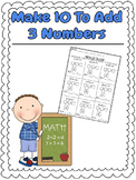 Addition and Number Bonds Math Bundle