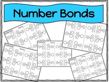Addition and Number Bonds Math Bundle