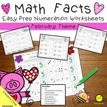 Numbers To 25 Worksheets Teaching Resources Teachers Pay Teachers