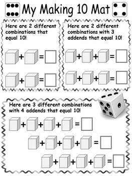 Addition and Problem Solving Dice Games for Primary Grades