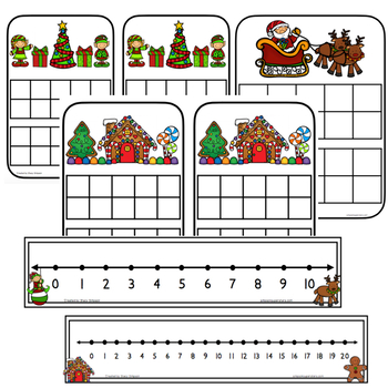Addition and Related Math Facts - Christmas/Gingerbread BUNDLE