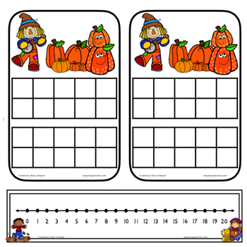 Addition and Related Math Facts ~ Fall Edition