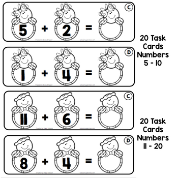 Addition and Related Math Facts - Gingerbread Edition