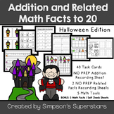 Addition and Related Math Facts ~ Halloween Edition