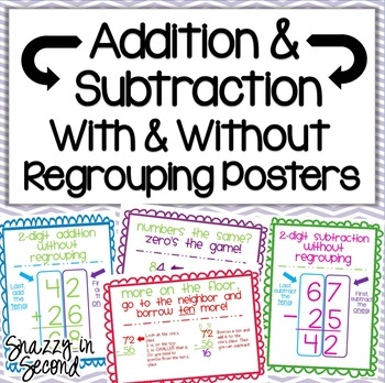 Addition and Subtaction With and Without Regrouping