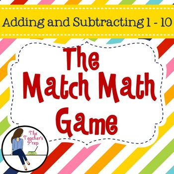 Addition and Subtraction Class Game