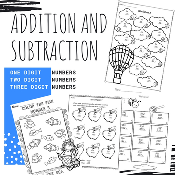 Addition and Subtraction 1-1000 Bundle