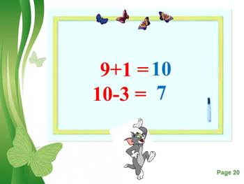 Addition and Subtraction End of the PowerPoint distance learning