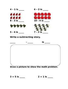 Addition and Subtraction 1 to 10