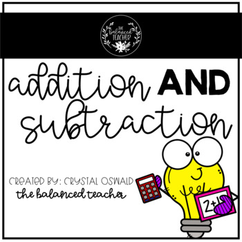 Addition and Subtraction