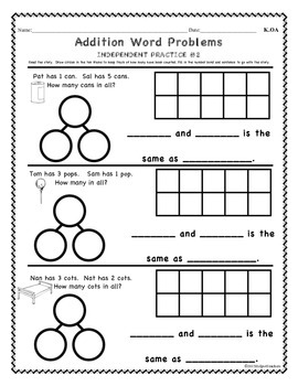 CCSS.Kindergaten-OA.1-5: Addition and Subtraction