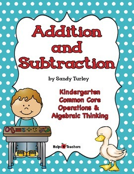 CCSS.KOA.1-5: Addition and Subtraction