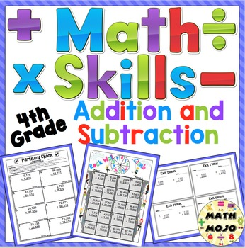 Addition and Subtraction - 4th Grade