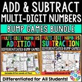 BUMP! Multi-Digit Addition and Subtraction Games Bundle