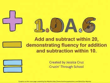 Addition and Subtraction 1.OA.6