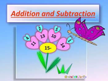 Math Addition and Subtraction to 20