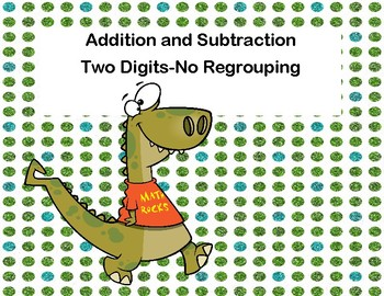 Addition and Subtraction -2-Digit Numbers- Without Regroup