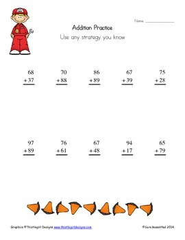Addition and Subtraction (2 digit) Worksheets