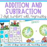 Two Digit Addition and Subtraction with Regrouping