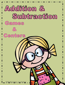 Math Addition and Subtraction Task Cards