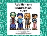 Addition and Subtraction -3-Digit Numbers-With and Without
