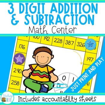 Addition and Subtraction - 3 digit numbers