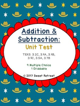 Addition and Subtraction Unit Test