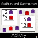 Addition and Subtraction Facts Activity Cards Bundle