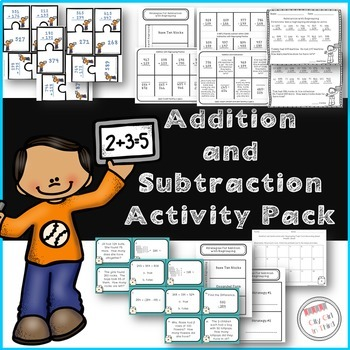 Addition and Subtraction Activity Pack