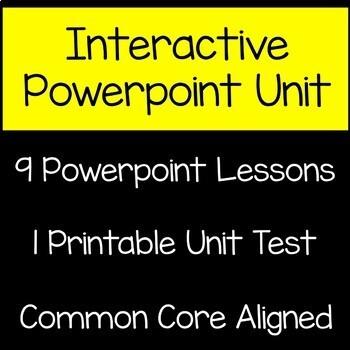 Addition and Subtraction Math Unit 4th Grade Common Core
