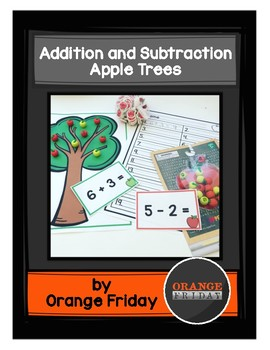Addition and Subtraction Apple Tree Activity