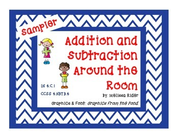 Addition and Subtraction Around the Room Sampler