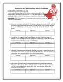 Addition and Subtraction Assessment - CCSS.MATH.CONTENT.1.OA.A.2