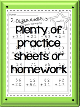 Addition and Subtraction Assessments and Practice Sheets