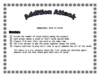 Addition and Subtraction Attack