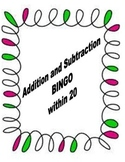 Addition and Subtraction BINGO
