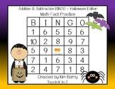 Addition and Subtraction BINGO - Halloween Edition