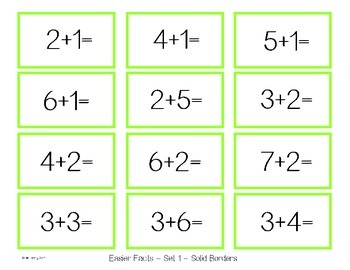 Addition and Subtraction BINGO - Kids at Play Edition